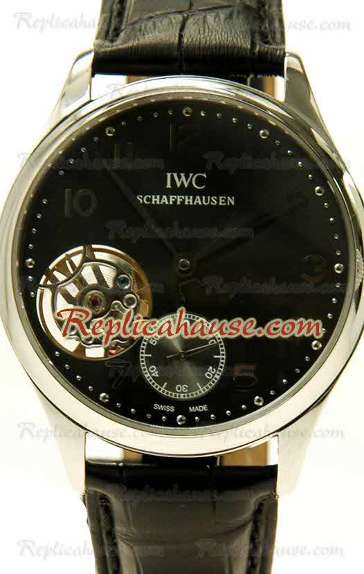 IWC Portuguese Tourbillon Swiss Replica Watch 03