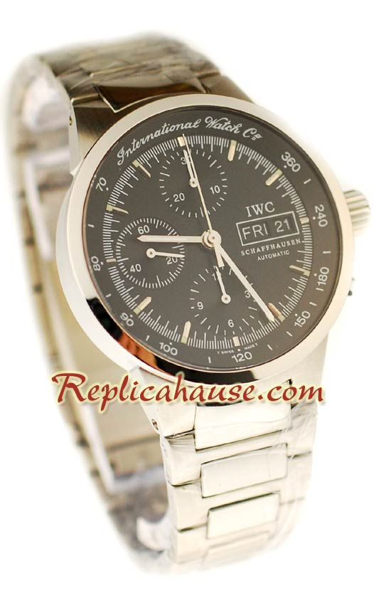 IWC Chronograph Swiss Replica Watch 01