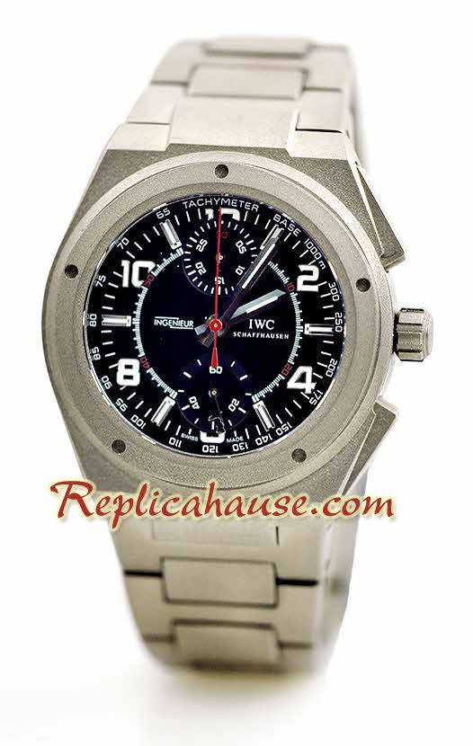 IWC Ingenieur Titanium Replica Watch 3