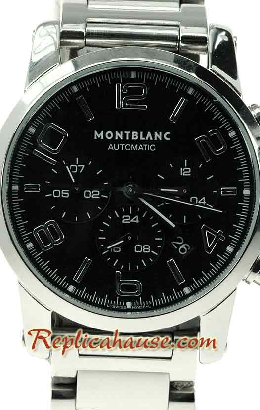 Mont Blanc Timewalker - Swiss Structure with Japanese Movement 01