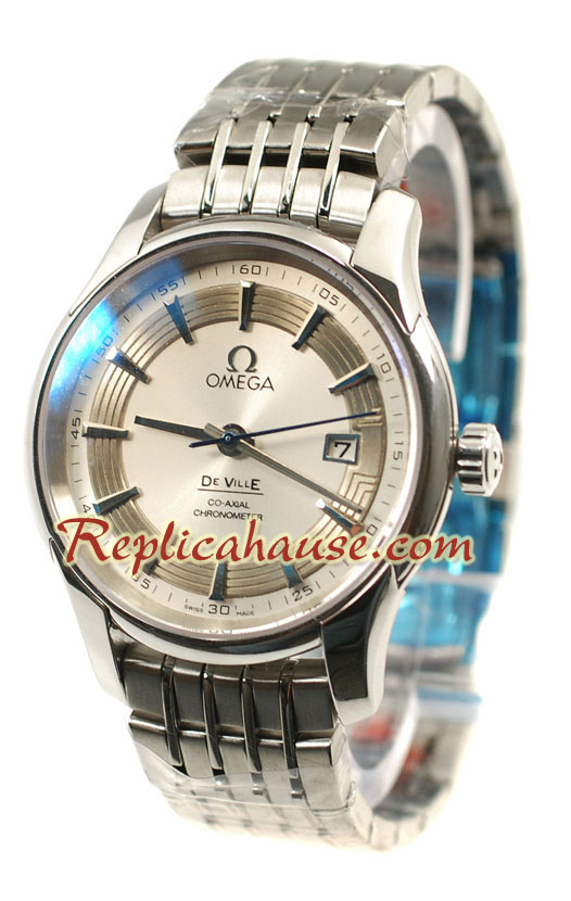 Omega CO AXIAL De Ville Hour Vision Swiss Replica Watch 06