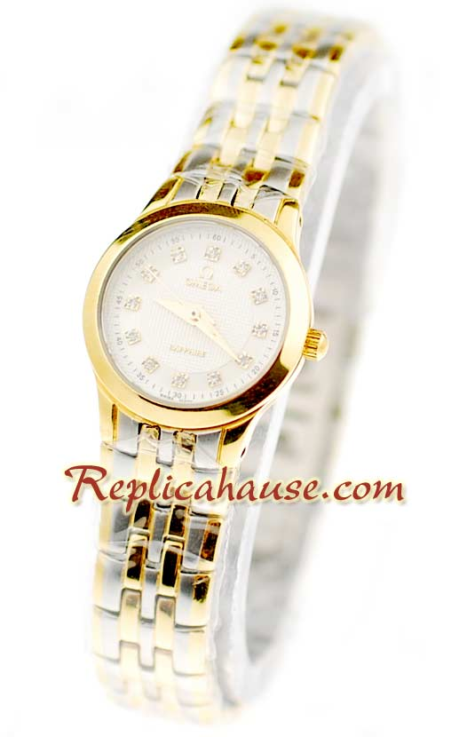 Omega Co-Axial Deville Ladies Replica Watch 02