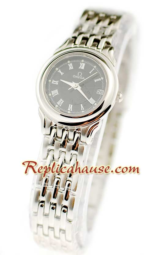 Omega Co-Axial Deville Ladies Replica Watch 06