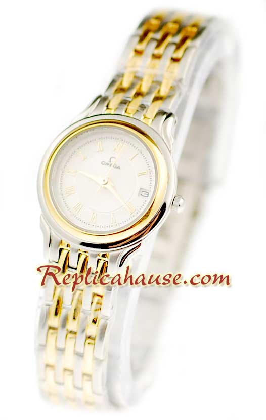 Omega Co-Axial Deville Ladies Replica Watch 07