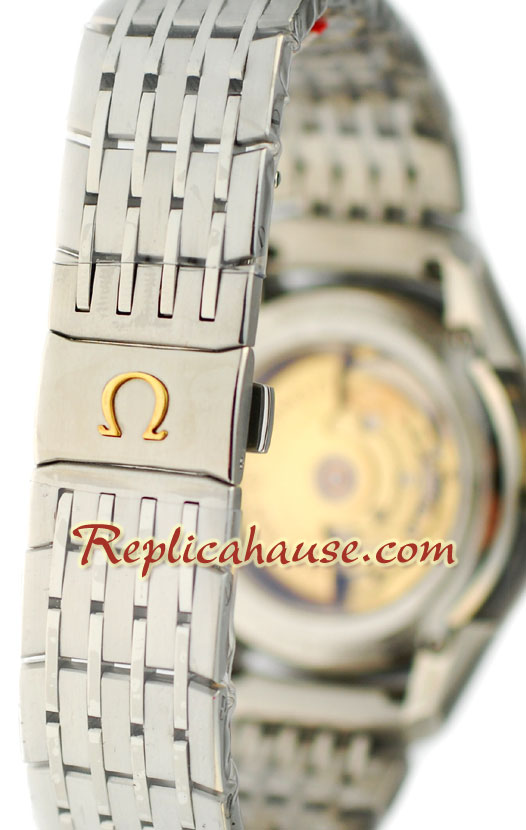 Omega CO AXIAL DeVille Hour Vision Swiss Replica Watch 2