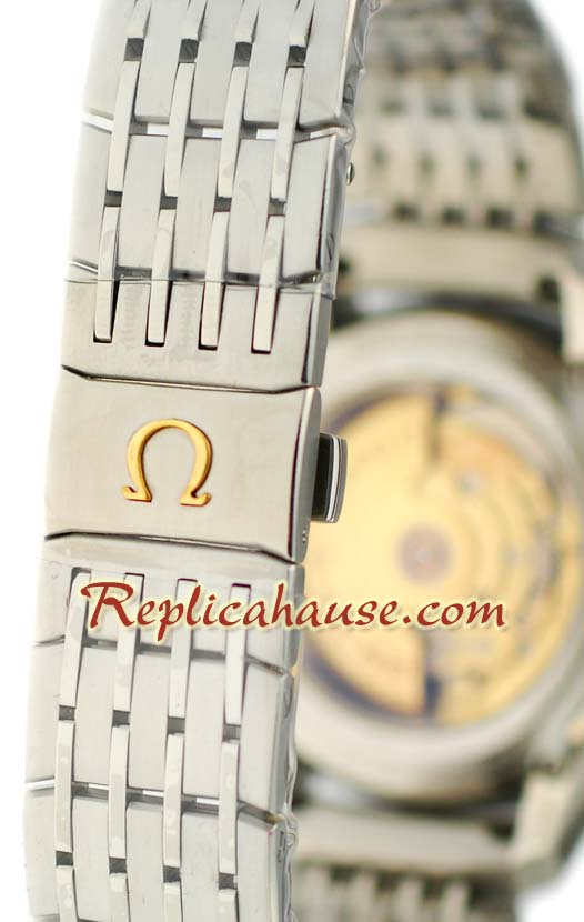 Omega CO AXIAL DeVille Hour Vision Swiss Replica Watch 3