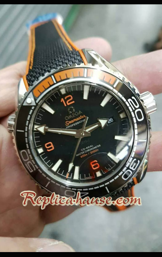 Omega Seamaster Planet Ocean 600M Edition Swiss Watch 15