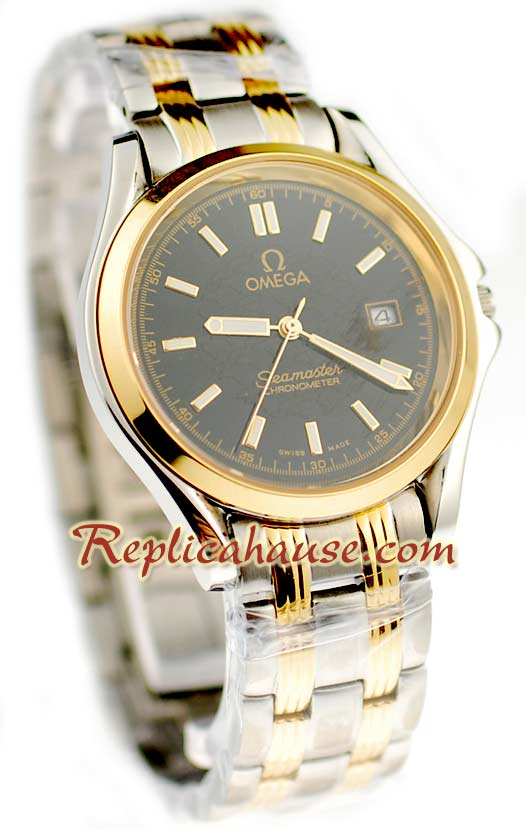 Omega Seamaster Deville Co-Axial Replica Watch 06