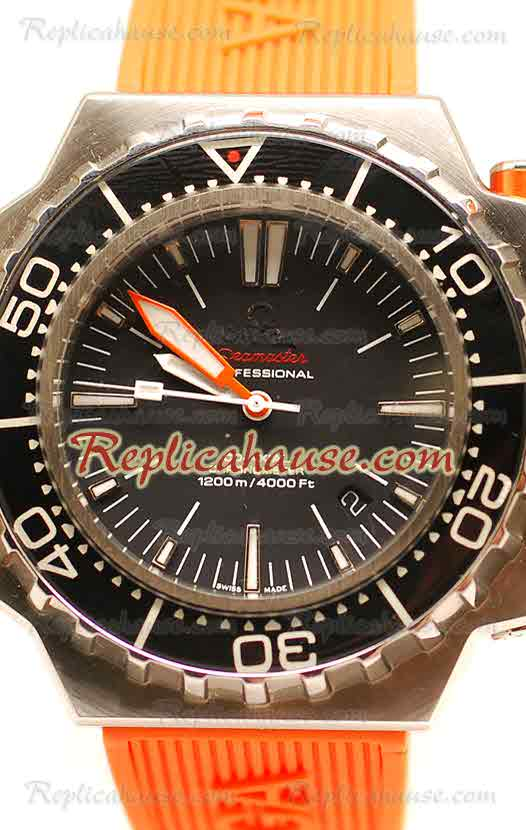 Omega Seamaster Ploprof 1200M Swiss Replica Watch 04