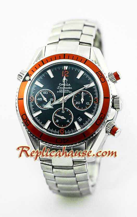 Omega SeaMaster - The Planet Ocean Swiss Watch 2