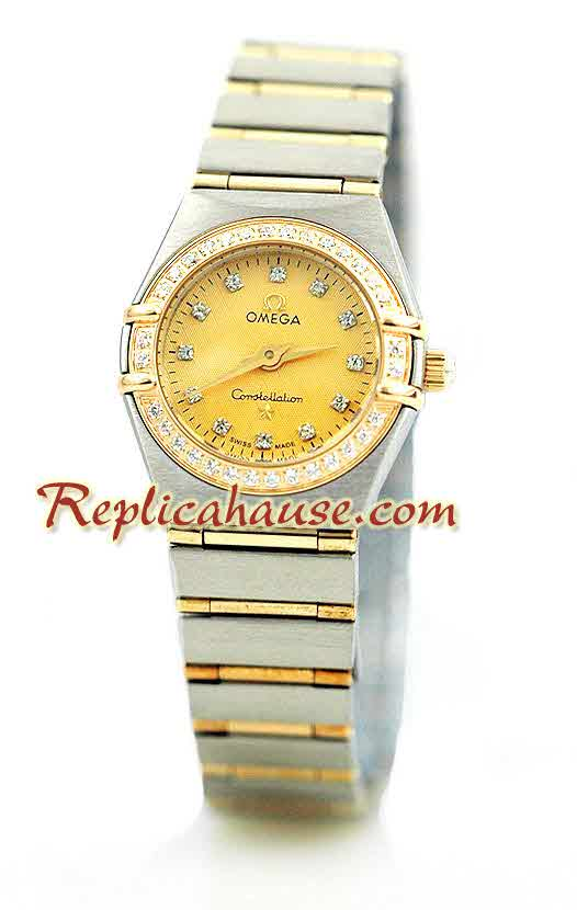 Omega Constellation Swiss Watch - Pure Gold Watch Ladies 1