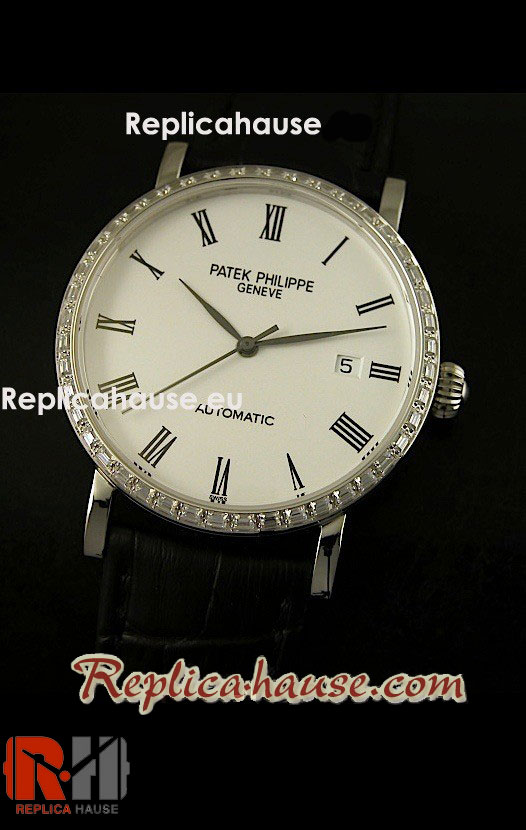 Patek Philippe Calatrava Swiss Watch 18