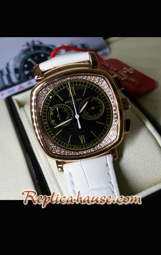 Patek Philippe Complicated Ladies First Chronograph Swiss Watch 10