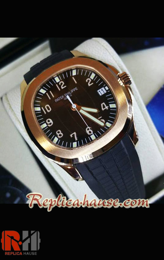 Patek Philippe Aquanaut Gold Swiss Watch 19