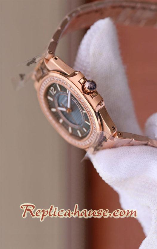 Patek Philippe Nautilus Rose Gold Ladies 2018 Swiss Replica Watch 12