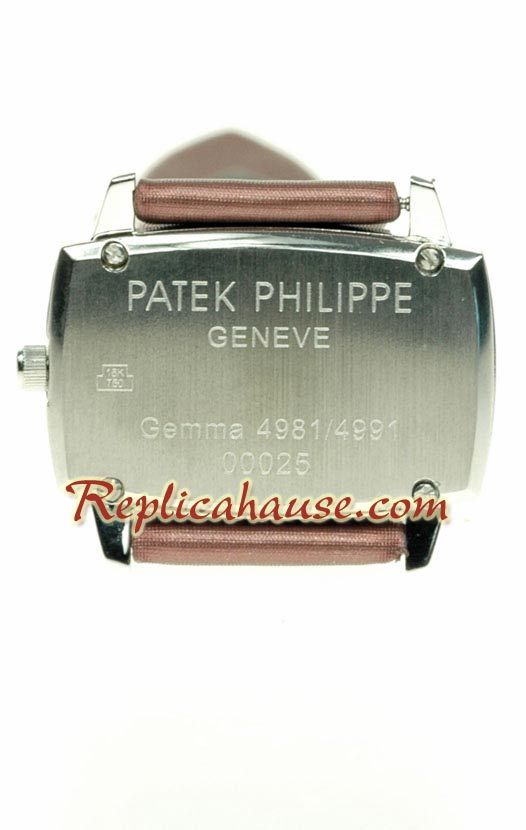Patek Philippe Gondolo Ladies Swiss Replica Watch 04