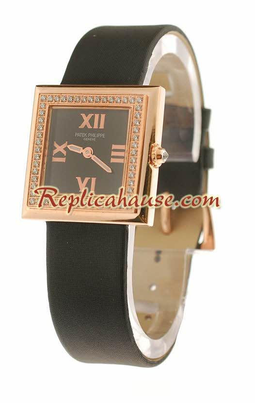 Patek Philippe Ladies Swiss Quartz Watch 011