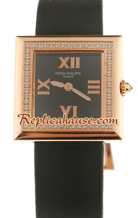 Patek Philippe Ladies Swiss Quartz Watch 01