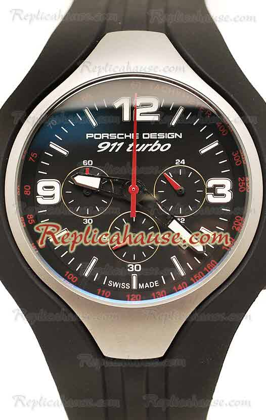 Porsche Design 911 Turbo Speed II Chronograph Replica Watch 01