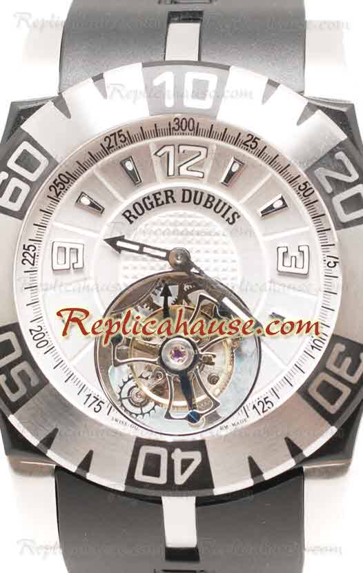 Roger Dubuis Tourbidiver Tourbillon Swiss Replica Watch 01