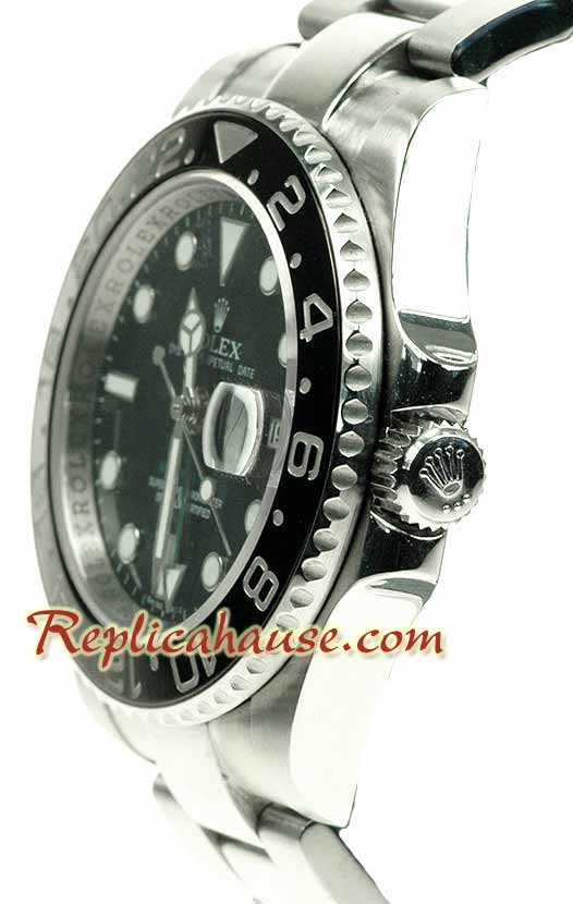 Rolex Replica GMT Swiss 2009 Edition - Ceramic Bezel Version 01