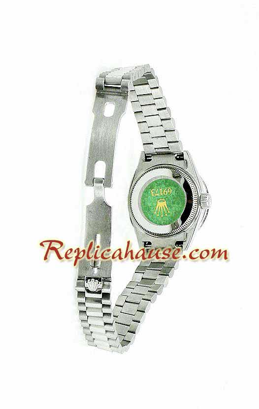 Rolex Replica Datejust Silver Ladies Watch 04