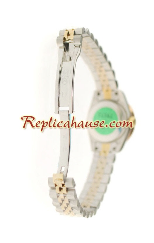 Rolex Swiss Replica Floral Motif Datejust Watch - Lady Size 02
