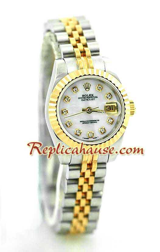 Rolex DateJust Two Tone Ladies - 33
