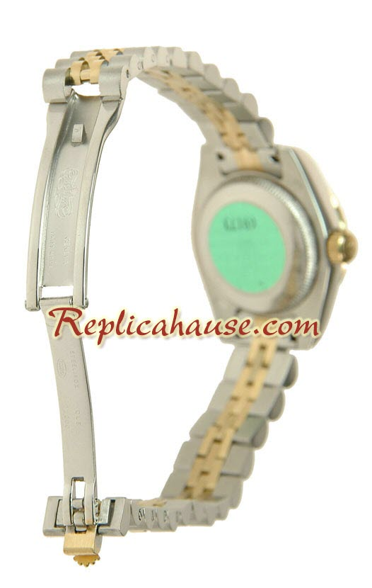 Rolex Replica Floral Motif Datejust Ladies Watch 03