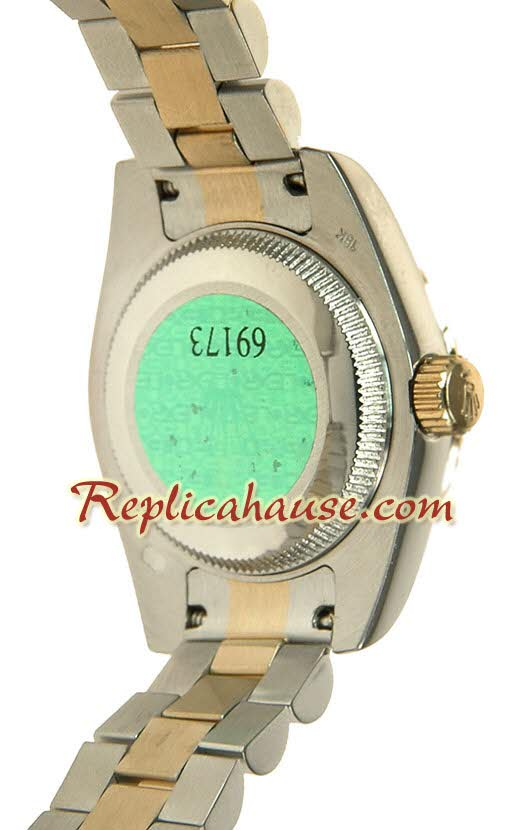 Rolex Replica Floral Motif Datejust Ladies Watch 10
