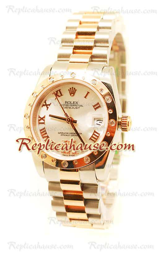 Rolex Replica Date Just Mid-Sized Watch 03