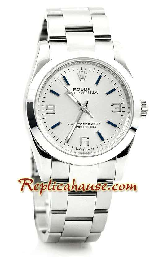 Rolex Replica Datejust Silver Watch 01