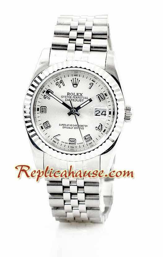 Rolex Replica Datejust Silver Watch 03