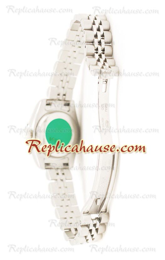 Rolex Replica Datejust Silver Ladies Watch 17