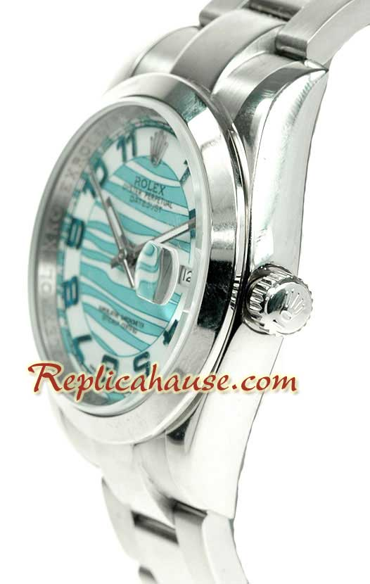 Rolex Replica Datejust Waves dial Watch 001