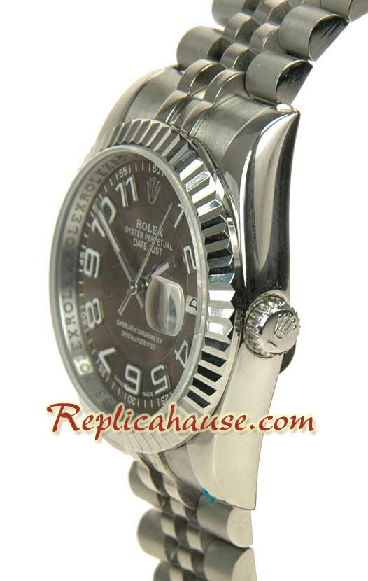Rolex Replica Datejust Waves dial Watch 007