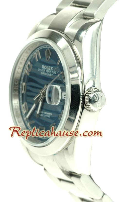 Rolex Replica Datejust Waves dial Watch 002