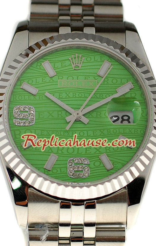 Rolex Replica Datejust Silver Watch 22
