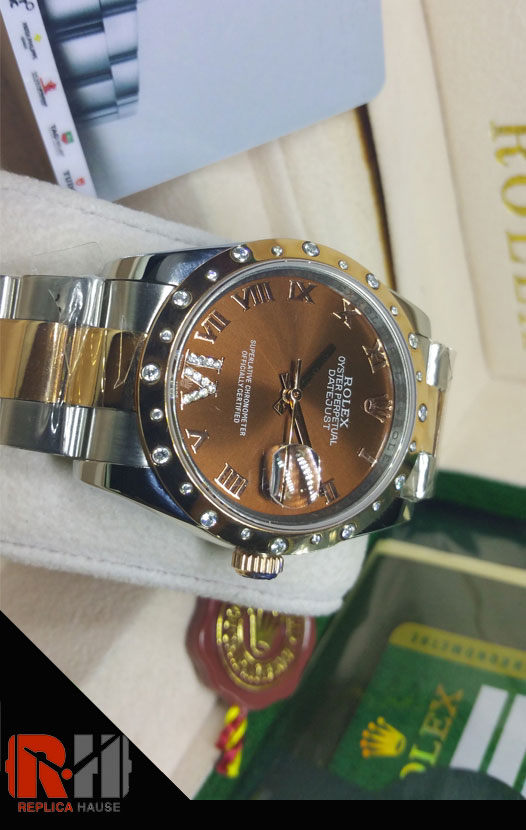Rolex Replica Datejust 2k Diamonds Swiss Watch 05