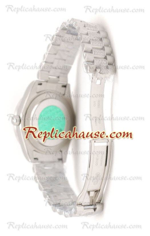 Rolex Replica Day Date Silver Swiss Watch 19