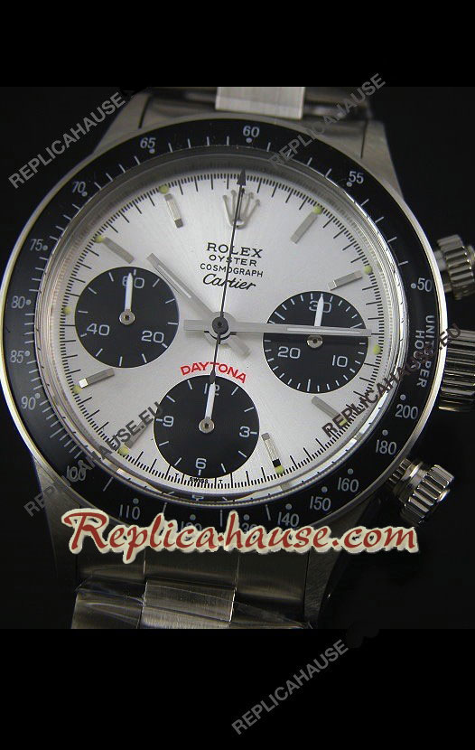 Rolex Daytona Vintage 6263 for CARTIER Edition Swiss Watch 18
