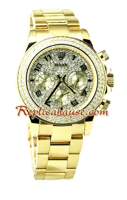 Rolex Replica Diamonds Edition Watch 03