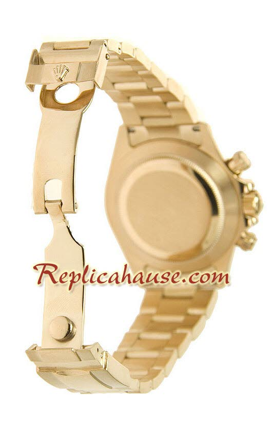 Rolex Replica Daytona Gold Swiss Watch 08