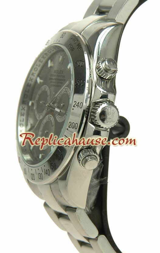 Rolex Replica Daytona Silver Watch 42MM - 1