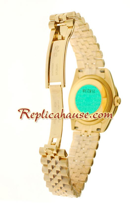 Rolex Swiss Replica Floral Motif 2010 Edition Datejust Watch 01
