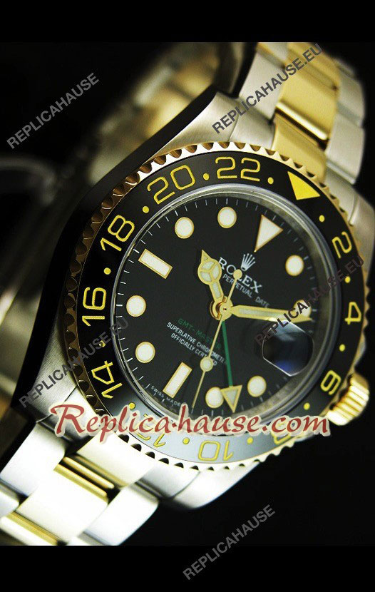 Rolex GMT Masters II Edition Two Tone - Swiss Watch 14