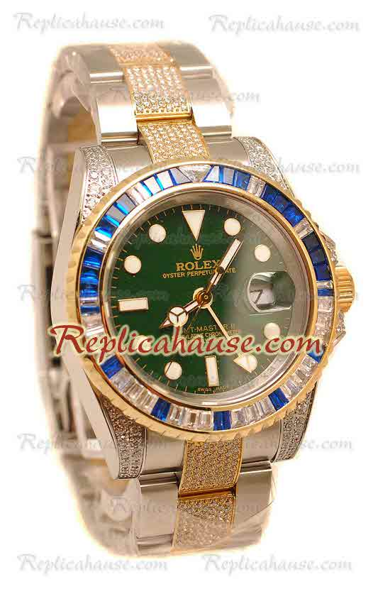 Rolex Replica GMT Masters II Swiss Watch 2010 Edition 24