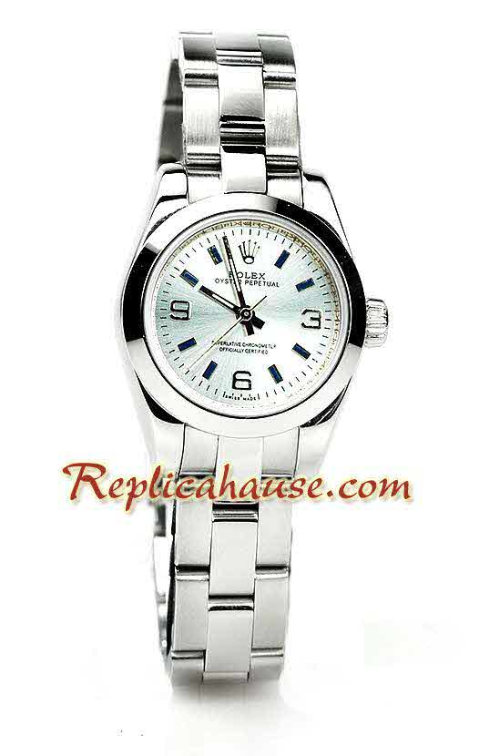 Rolex Replica Datejust Silver Ladies Watch 16