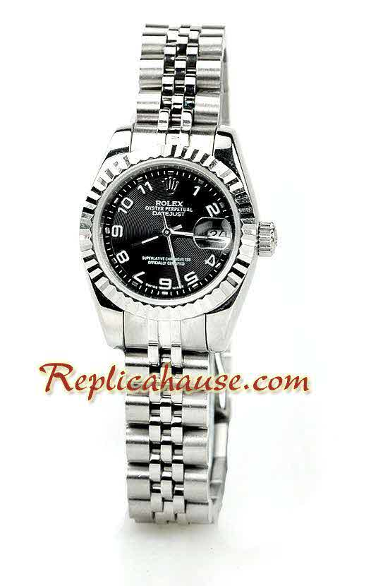 Rolex Replica Datejust Silver Ladies Watch 09