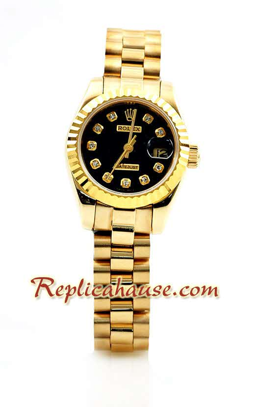 Rolex Replica Datejust Gold Ladies Watch 20